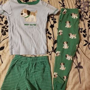 Pup 3 pc pajama set